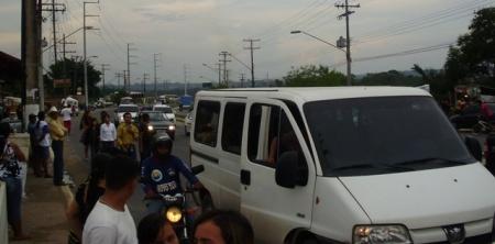 Vans atuaram livremente fazendo transporte ilegal